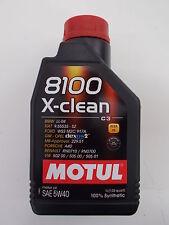 MOTUL OLIO MOTORE AUTO 8100 X-CLEAN 5W-40 100% SINTETICO FLACONE da 1 LITRO