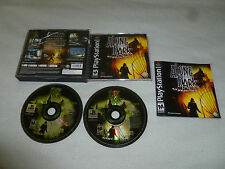 PLAYSTATION PS1 GAME ALONE IN THE DARK THE NEW NIGHTMARE COMPLETE CASE & MANUAL