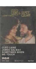 Sometimes When We Touch ~ Cleo Laine & James Galway ~ Cassette ~ Good