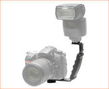 Off Camera flash Bracket Mount L-Shaped for DSLR UK seller