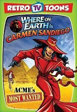 Retro TV Toons - Where on Earth is Carmen Sandiego - ACME's Most Wanted