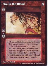 Fire in the Blood VTES CCG Mixed