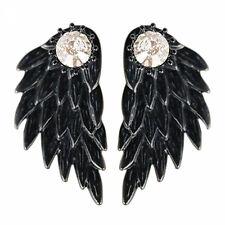 Mujer Punk Gótico Pendientes Alas ángel Aretes Joyas Drop Stud Earrings
