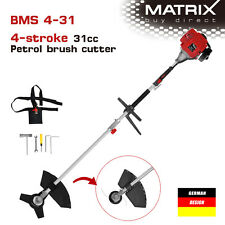 NEW Matrix 4 stroke Brushcutter Whipper Snipper Line Trimmer Grass 31cc