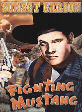 CARSON,SUNSET-FIGHTING MUSTANG DVD NEW
