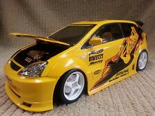 HOT WHEELS 1:18 2002 HONDA CIVIC Si TURNEZ CAR (No Box or Stand) Free Shipping!!