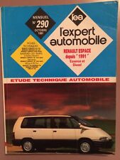 Revue Technique L'expert Automobile RENAULT Espace depuis 1991 Essence et Diesel