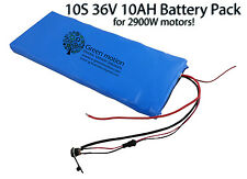 Li-Ion / Lifepo4 36V10AH Electric Skateboard Battery Pack+ Charger