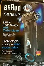 Braun Series 7 w/ Turbo Mode Wet & Dry Electric Shaver 740s-7