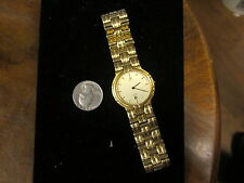 Mens Authentic Noblia By Citizen  Gold Two Tone  Watch Used 3960-C90571 TA