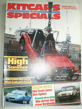Kitcars & Specials Aug 1985 Eagle 2 Plus, Bedouin