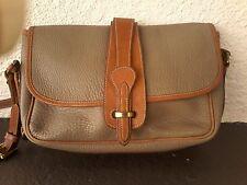 DOONEY & BOURKE All Weather PEBBLED Leather MESSENGER Cross-Body SHOULDER Bag