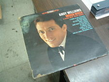 """ANDY WILLIAMS """"MOON RIVER & OTHER GREAT MOVIE THEMES"""" (LP Sound Condition)"""