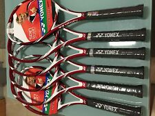 Yonex Vcore 95D tennis racquet new in plastic with hang tags. Last 4 pieces.