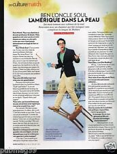 Coupure de Presse Clipping 2011 (1 page) Ben L'Oncle Soul