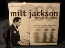 Milt Jackson - Birthday Celebration  -3CD-Set