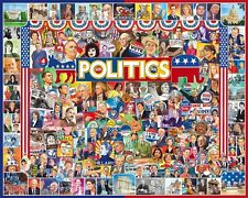 Politics 1000 piece jigsaw puzzle   760mm x 610mm   (wmp)