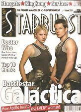 Starburst #333 Battle Star Galactica, Dr. Who Stargate, complete magazine