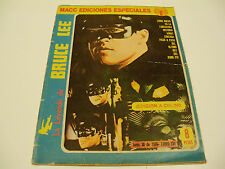 OLD RARE 70's BRUCE LEE MEXICAN MARTIAL ARTS MAGAZINE,HARD TO FIND,GREEN HORNET