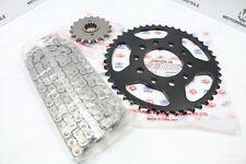 Honda CB 750 F Boldor RK Kettensatz Stahl X-Ring Offen Schwarz