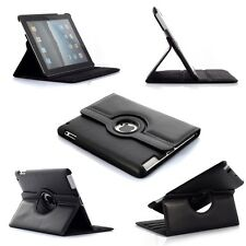 360° BLACK Rotating iPad MINI 2 2G iPad Mini 3 3G SMART Leather Cover Case