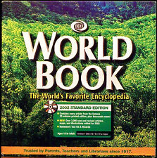 World Book: The World's Favorite Encyclopedia 2002 Standard Edition CD - Windows