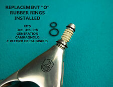 """REPLACEMENT """"O"""" RUBBER RING SET FOR CAMPAGNOLO C RECORD DELTA BRAKES 4pcs"""