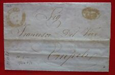 Italy Toscana 1862 Free Stamps Letter sent from Livorno by Railway to Empoli