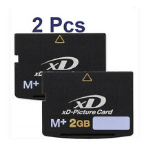 2X 2GB xD Picture Card Type M+ Brand New Flash Memory Card For Olympus &Fujifilm