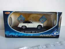 SOLIDO 1851 - MG Midget MK IV Spider 1969 Blanc 1/43 - Boite Box - Near Mint