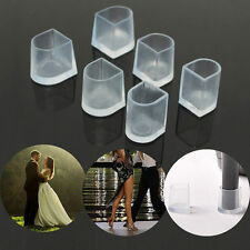 10 Pair Clear High Heel Shoes Protectors Stiletto Cover Stopper Wedding Mates S