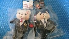 D.Gray-man Allen Walker and Yu Kanda Official Bear plush mascot set of 2 NEW
