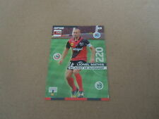 Carte Total Panini - Foot 2015/16 - N°074 - Guingamp - Lionel Mathis