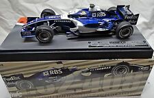 BUILT 1/18 WILLIAMS F1 2006 F1 GP BAHARAIN N. ROSBERG Hot Wheels Racing