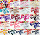 DIY 10-100 pcs Satin Ribbon Organza lace BOW Appliques/craft/Wedding decoration