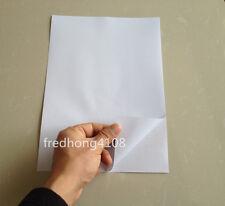 20pc A4 PVC Matt Printable Self Adhesive Sticker Printer Paper Sheet white