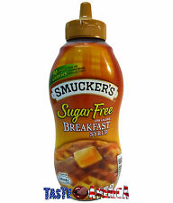 Smuckers Sugar Free Breakfast Syrup Low Calorie 429ml Bottle
