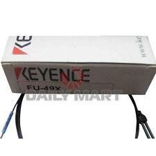 KEYENCE FU-49X FU49X Reflective Photoelectric Digital Fiber Optic Sensors Unit