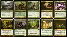 MTG Golgari Grave Deck - Ghoultree Jarad Splinterfright Lotleth -  Magic Gathing