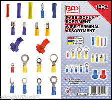 BGS - Crimping & Scotch Lock Cable Lug Set - 160 Pcs - 14105