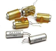 6x Mullard OAZ203 / OAZ 203 Uralt Zener-Diode, 50er Jahre