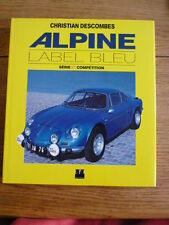 RENAULT ALPINE - LABEL BLEU CAR BOOK jm