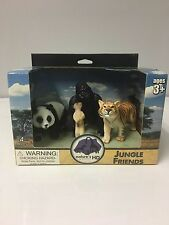 SCHLEICH SIZE WILD LIFE JUNGLE ANIMALS HIGH DEFINITION 1:20 SCALE SET OF 4 *NEW*