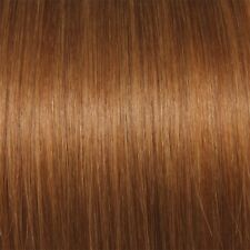 extenia - 25 Real Hair Extensions in dark Copper blonde #16 75 cm 1 Gram Haare