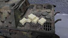 1:16 Heng Long Torro Tamiya German WWII 120mm Tiger 1 Stowage 5pcs Wooden Box *B