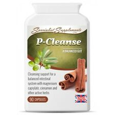 P-Cleanse - Powerful Colon Gastro Intestinal Cleanse Formula 2-PACK 180 Capsules
