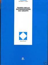TEORIA DELLE RAPPRESENTAZIONI DEI GRUPPI (libro di algebra astratta)