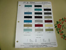 1967 Oldsmobile Ditzler PPG Color Chip Paint Sample - Delta F-85 88 98 Toronado