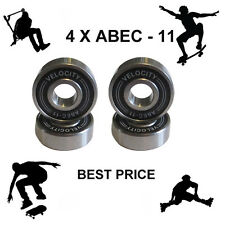 4 Abec 11 Wheel bearings Skateboard stunt scooter Quad inline Roller skate 9