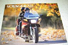 1986 Kawasaki Voyager XII, ZG1200 - A1, NOS.Sales Brochure.